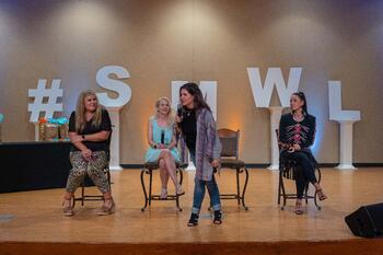 Bella Vasta, Jennifer Watson, Julie Riley and Sarah Kelsey SMWL21