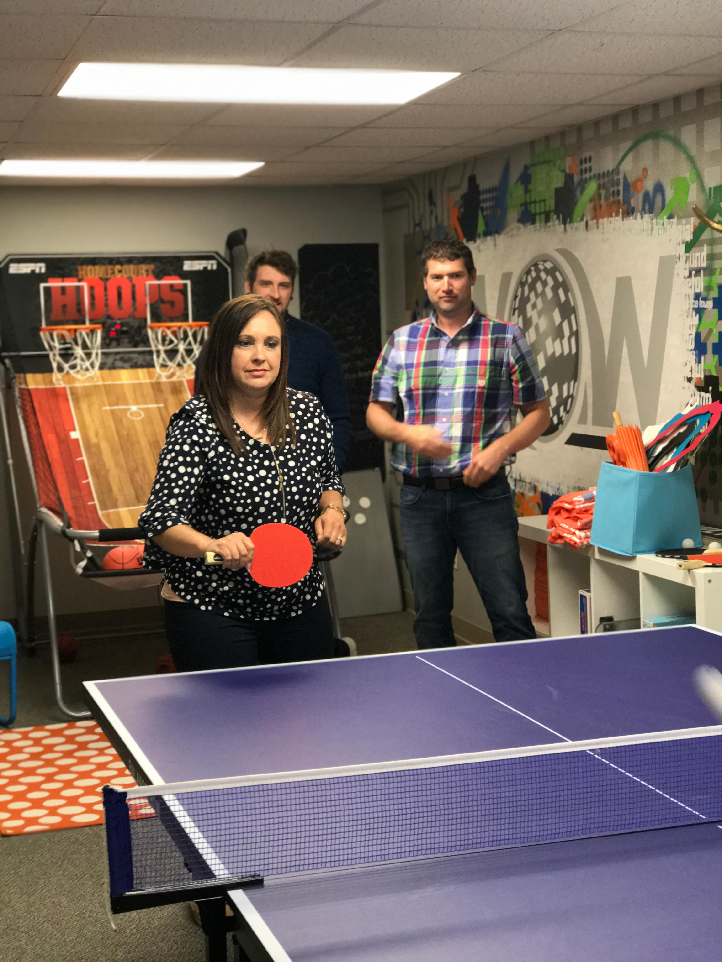 NOW Marketing Group Epic Ping-pong Battle