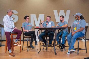 Mike Gingerich Panel with UNOH Students SMWL21