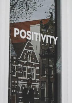 Positivity graphic