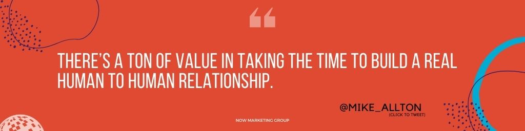 Relationship Marketing Quote Mike Allton @mike_allton