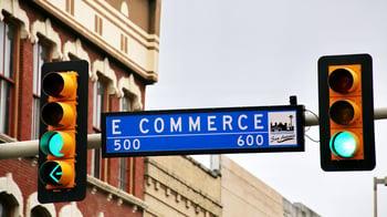 ecommerce street sign