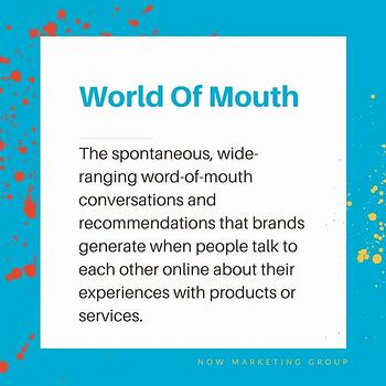 world of mouth definition