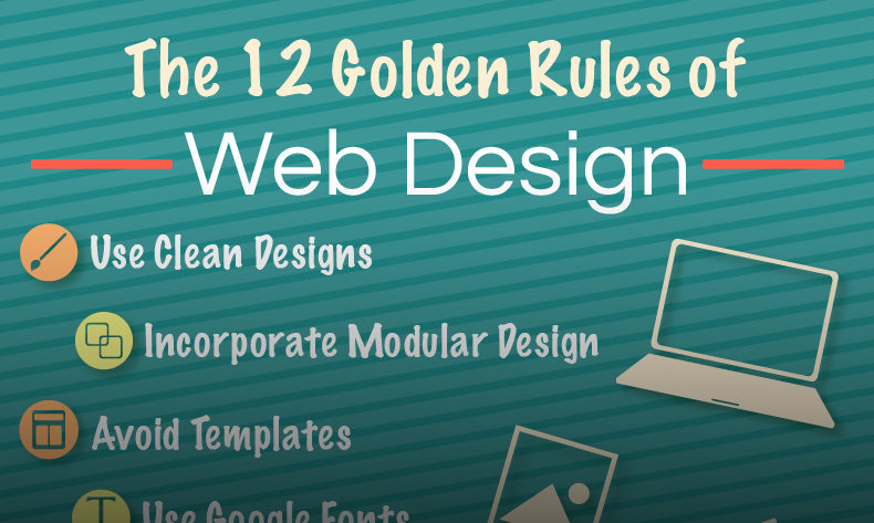 NOW Marketing Group Ohio marketing agency the 12 golden rules of great web design