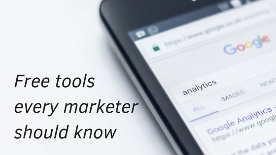 Free-tools-every-marketer-should-know