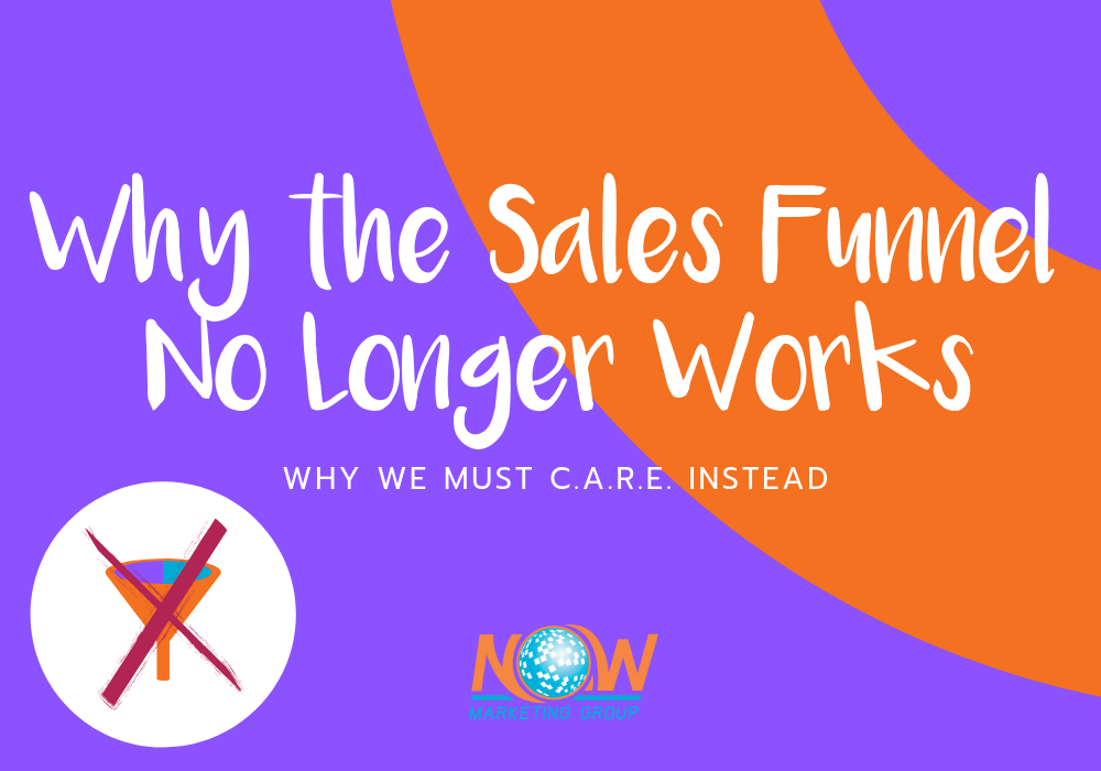 NOW Marketing Group why the sales funnel no longer works