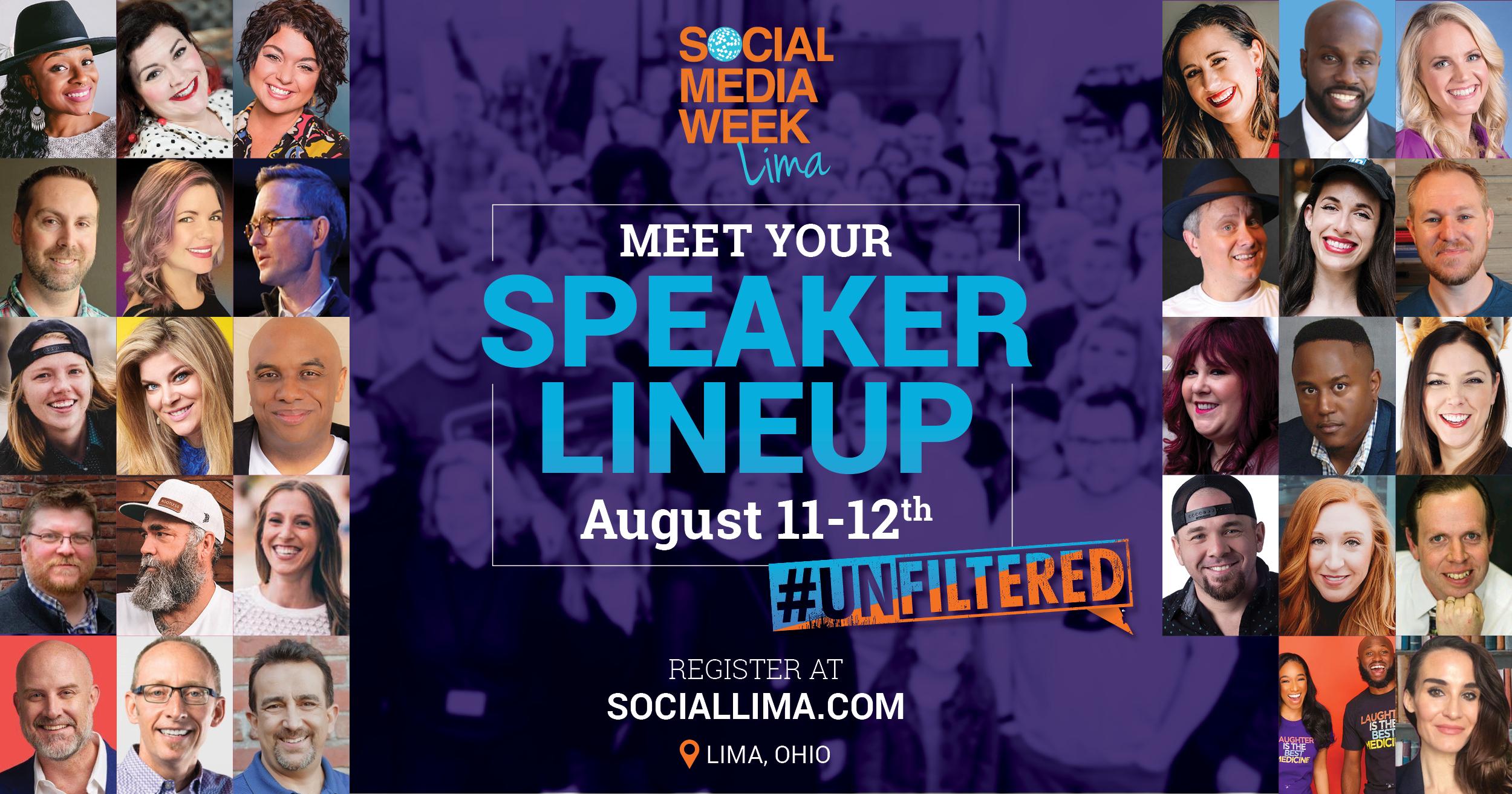 Social Media Week Lima 2021 Speaker Lineup