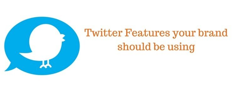 NOW Marketing Group Twitter Features your brand should be using